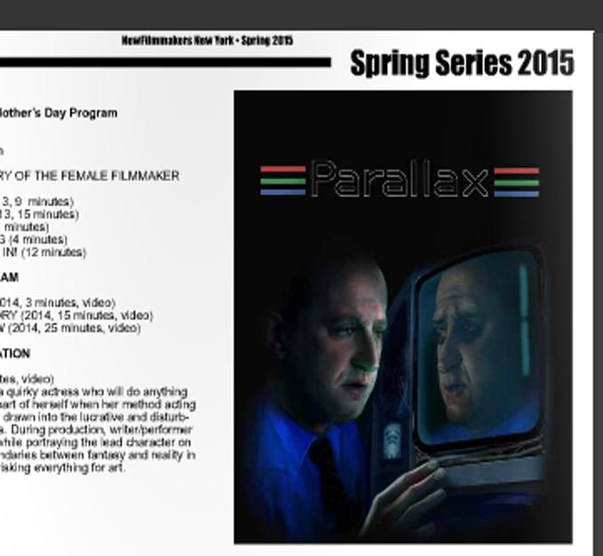 NewFilmmakers New York - Spring 2015 Newsletter